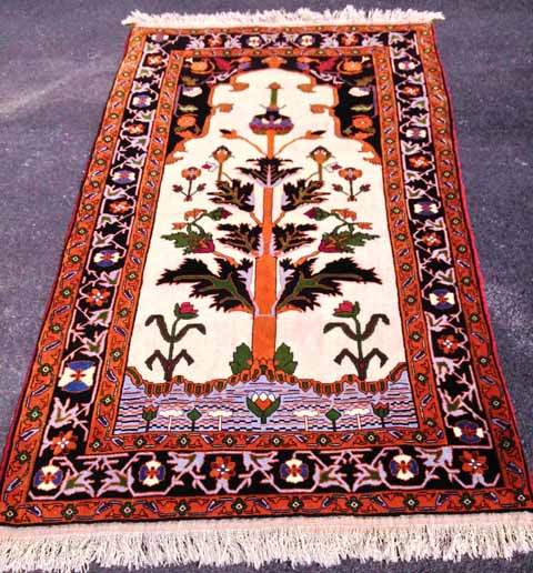 AR1028C--4'6x6'6 Persian Tree of Life, $1499