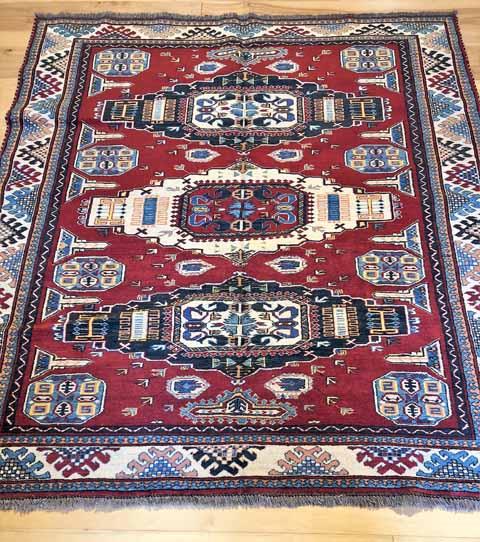 AR2608C Kazak Rust $2,999_6'7x7'10