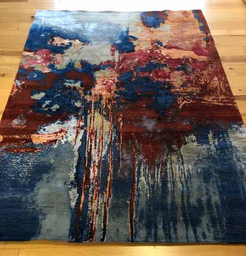AR2642C-WoolSilk Canvas Art_6'2x8'10_$3,299