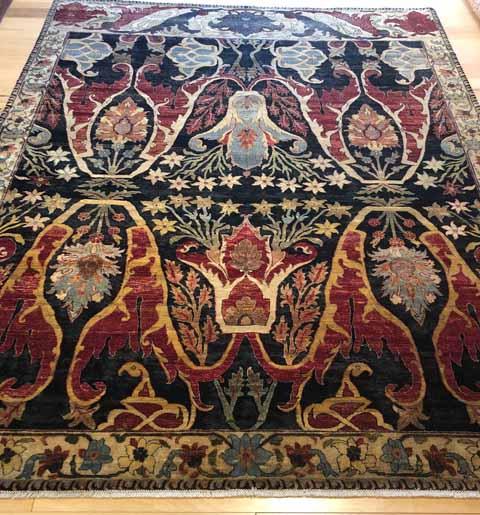 R2630C-Wool_Silk Bidjar-8x10'6_$10,500