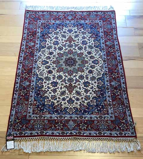 A2763_Ultra Fine Silk Foundation Persian Isfahan_3'5×5'5_$6699