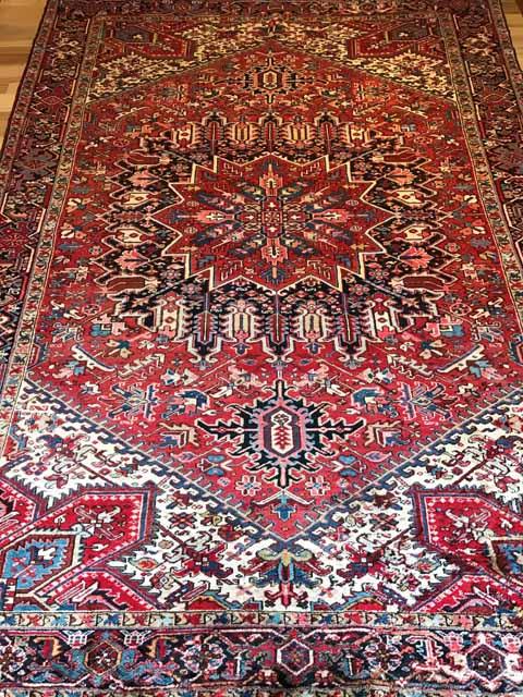 OV1004-8'11×13′ pre-owned Persian Gorevan, $3,499